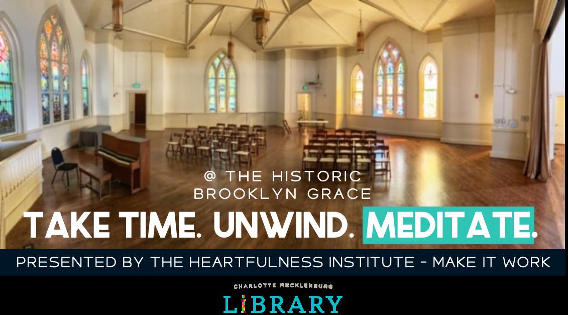 Inside church where we will meditate