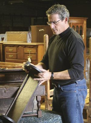 Mike Danial, Stickley Corporate Historian