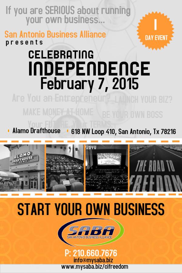 Celebrating Independence Event || February 2015