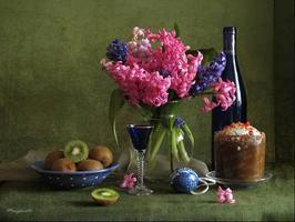 Secret of Flowers Spring Floral Art Lesson & Wine Tasting...