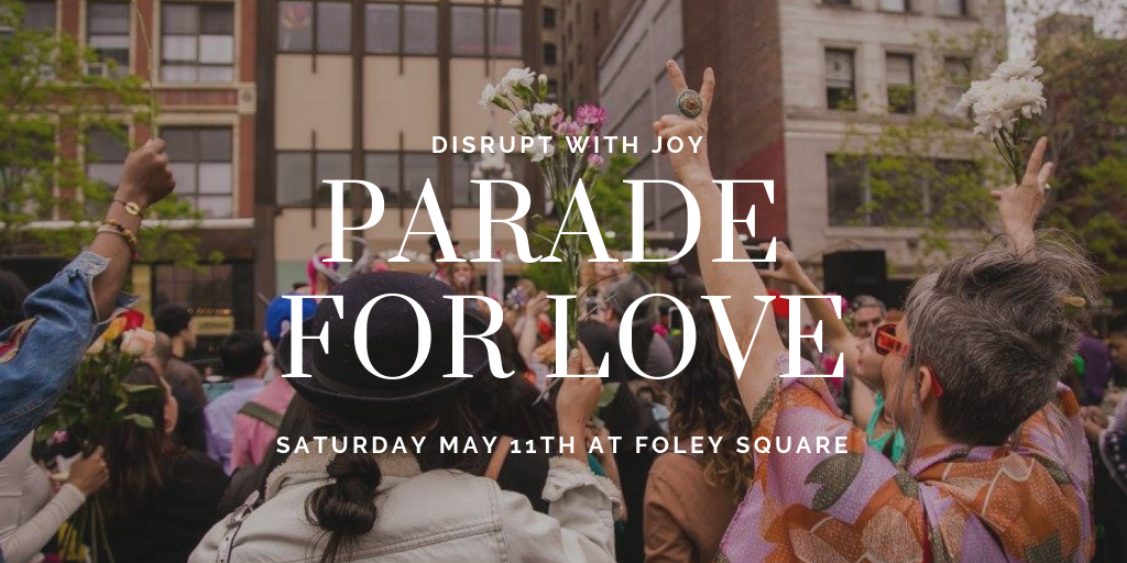 Parade for Love flyer