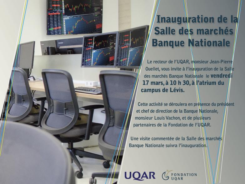 inauguration de la salle des march 201 s de l uqar cus de l 201 vis universit 233 du qu 233 bec 224 rimouski