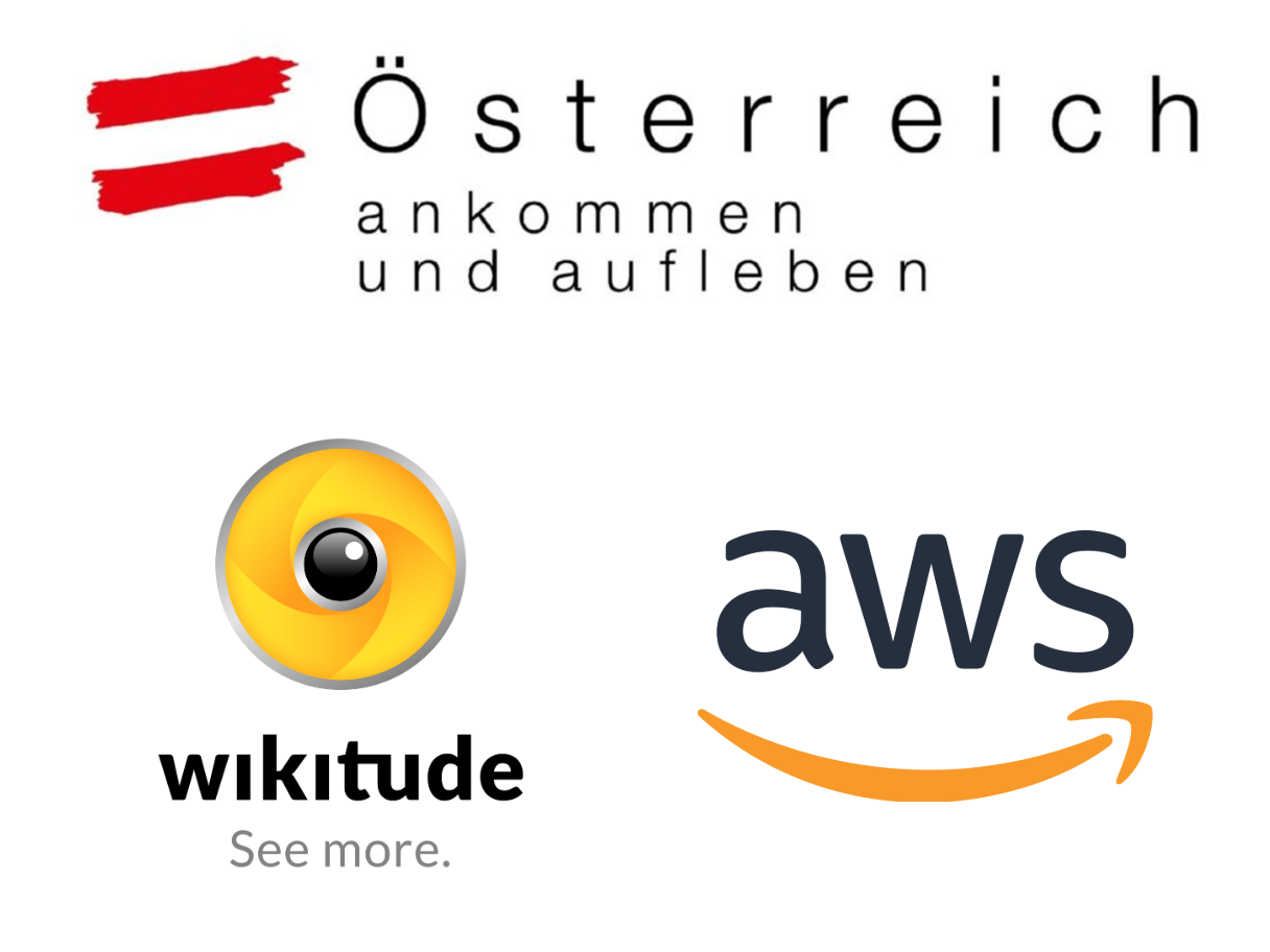 Logos Österreich Werbung, Wikitude, AWS