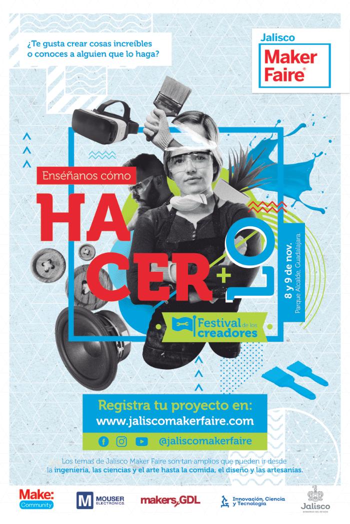 Poster Jalisco Maker Faire