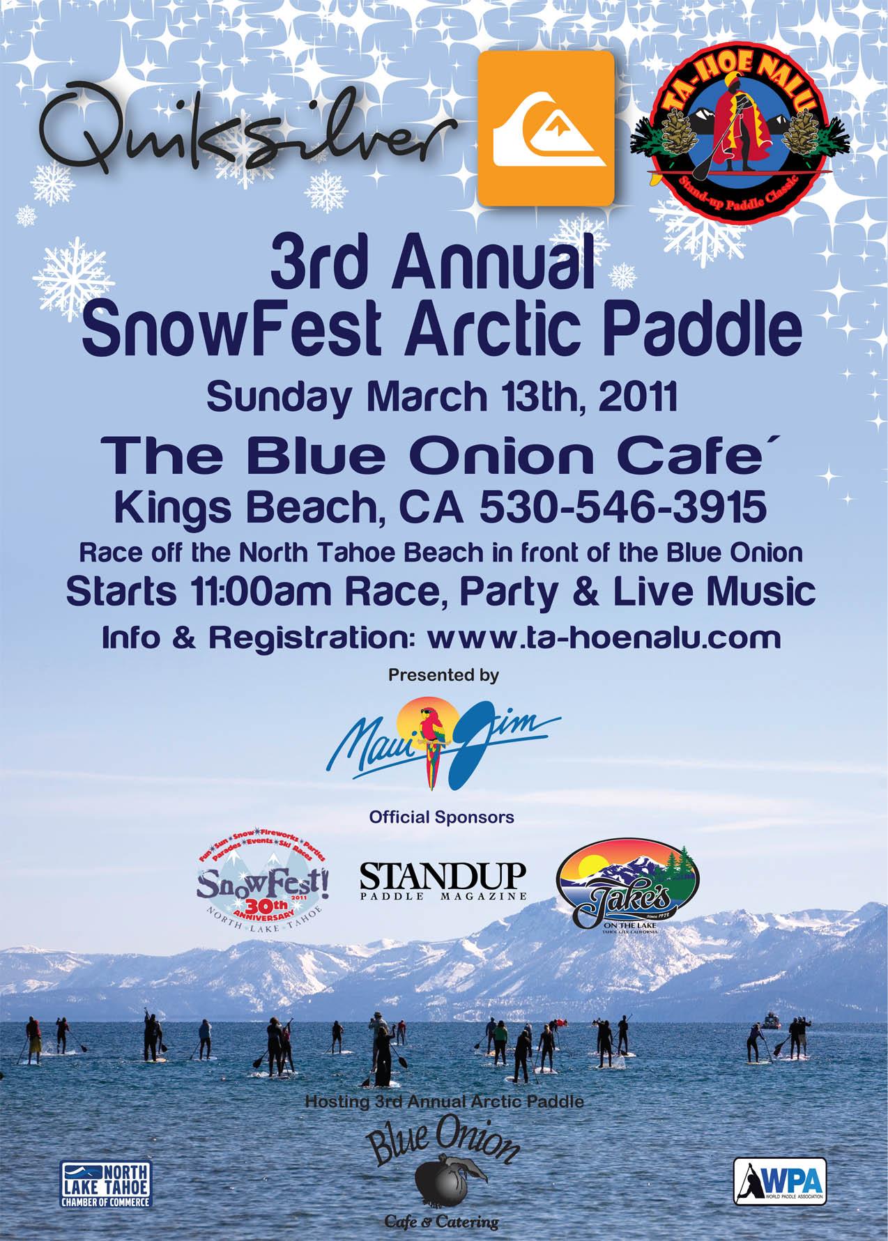 2011 SnowFest Arctic Paddle