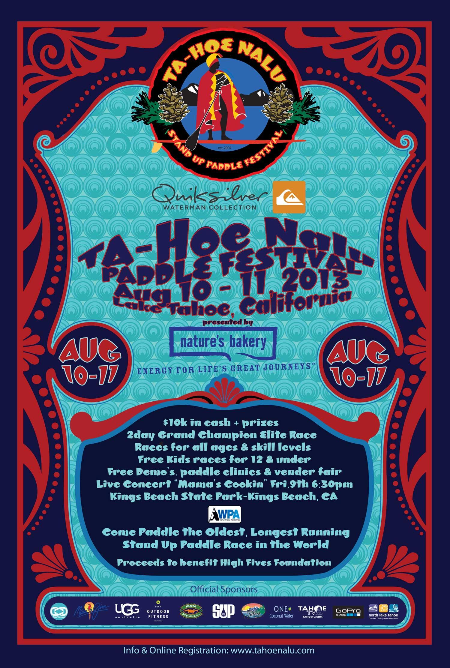 2013 TA-HOE NALU PADDLE FESTIVAL