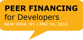 Peer Financing for Developers NYC Conference