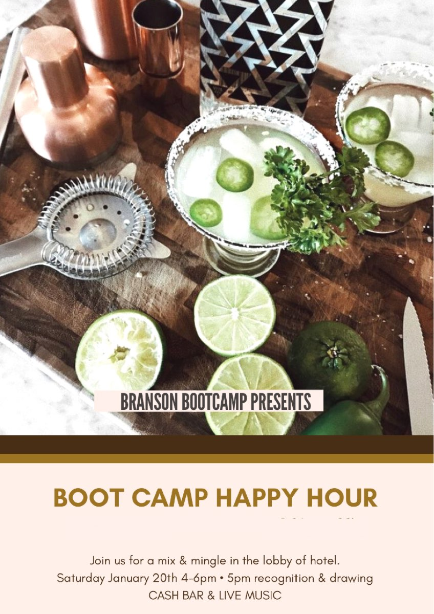 Boot Camp Happy Hour