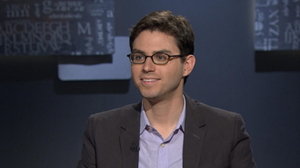 Portrait of Joshua Foer