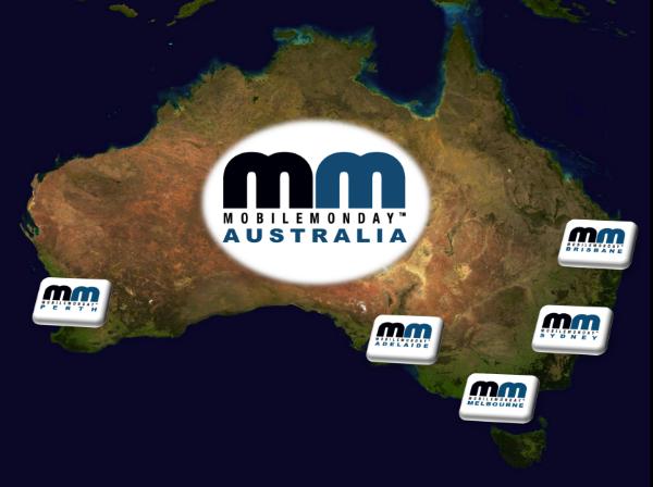 Mobile Monday Australia - Chapter Locations