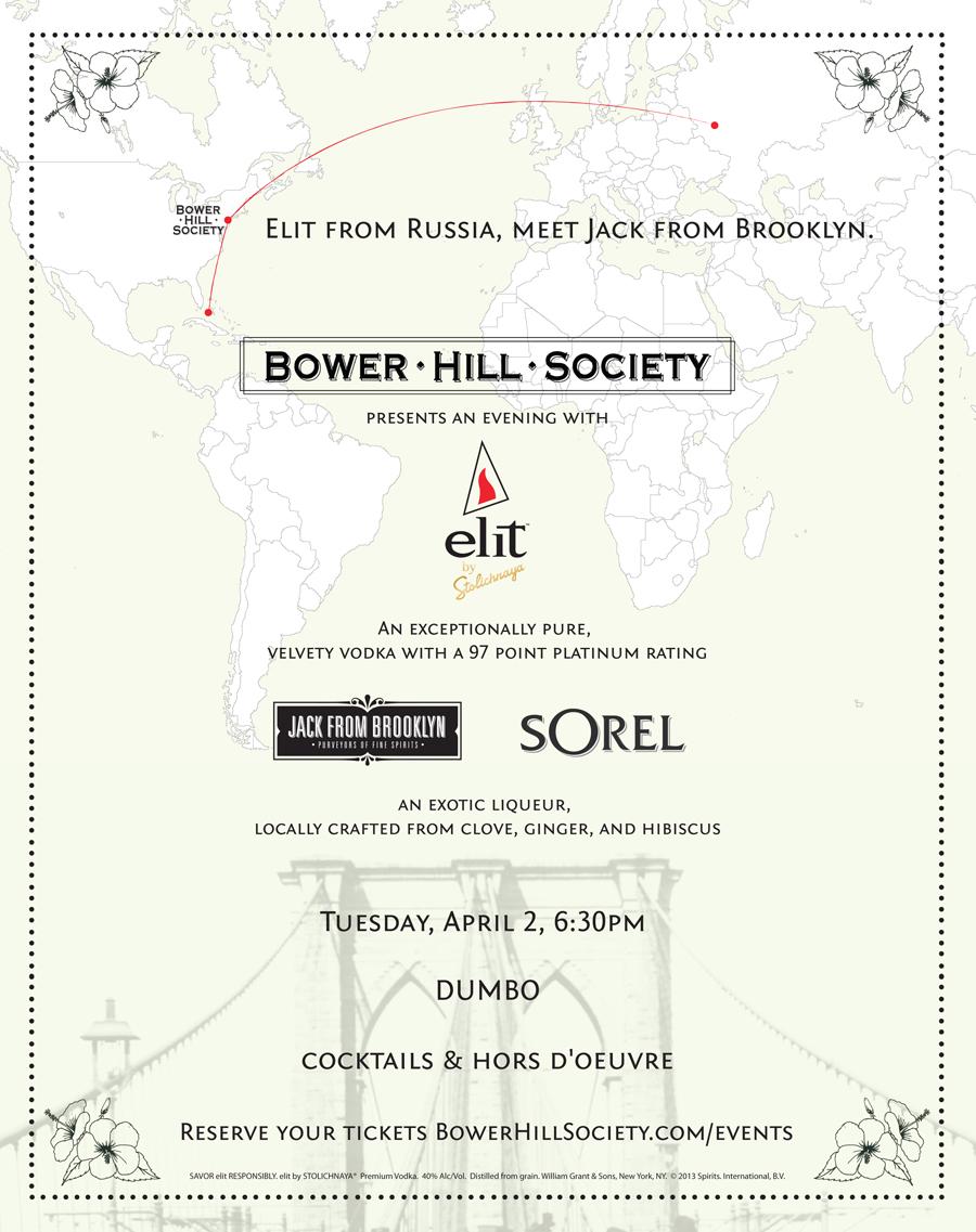 Bower Hill Society Invitation April 2