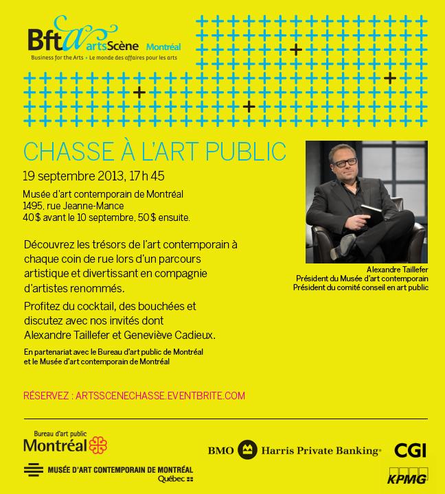 Invitation ArtsScène