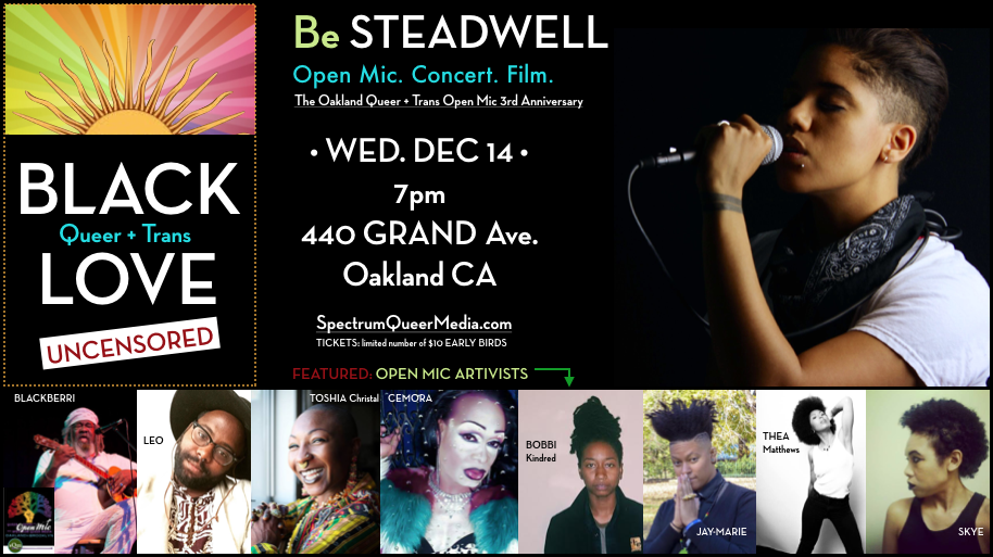 Black QT Love with Be Steadwell + Friends