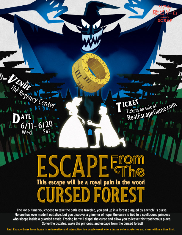 Escape from the Cursed Forest