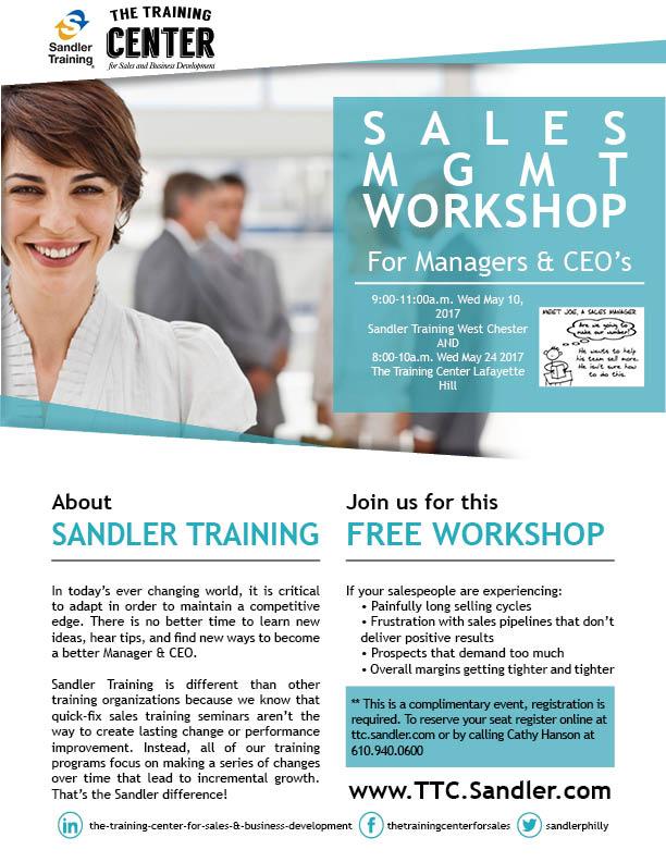 Sales MGMT Workshop