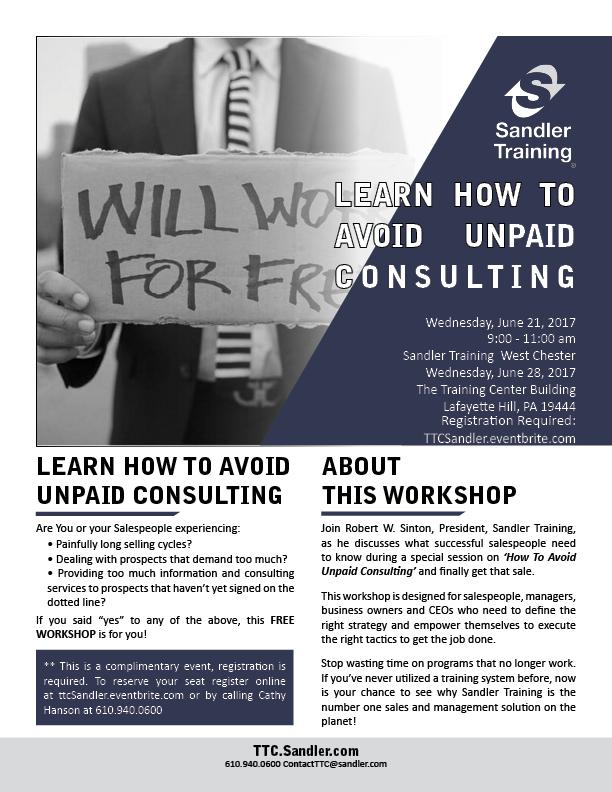 unpaid consulting