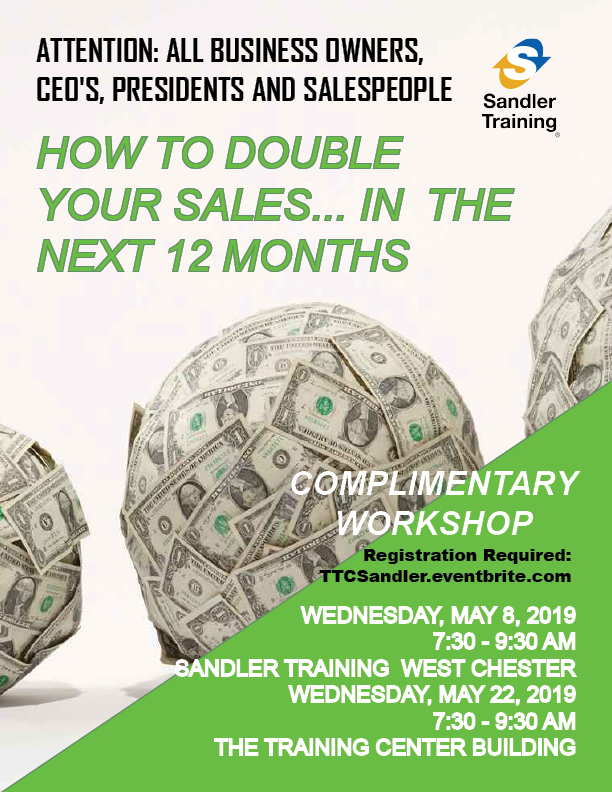 eb480d53b7708 How To Double Your Sales...In The Next 12 Months May 8 in West ...