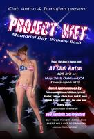 Club Anton & @Temujinn present Project Wet  (May 26th)