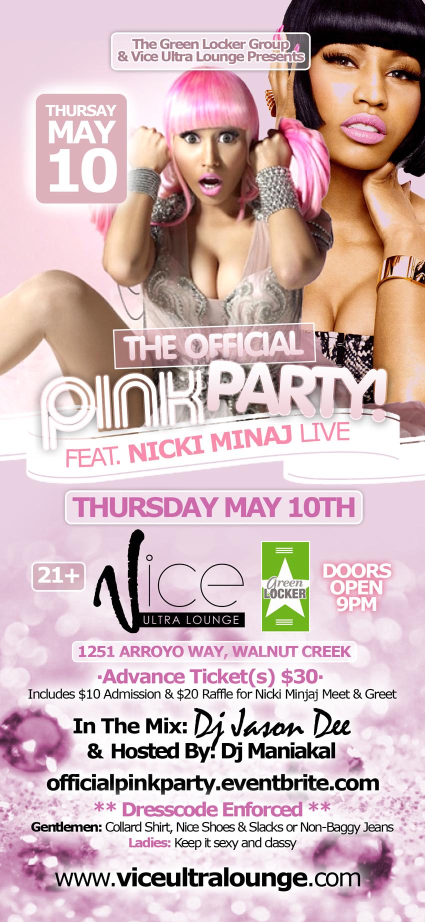 Official Pink Party feat. Nicki Minaj