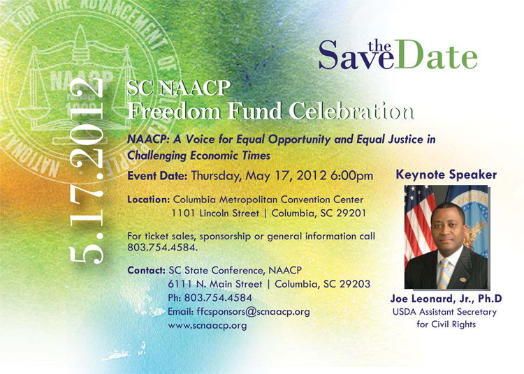 2012 NAACP Freedom Fund Celebration Update