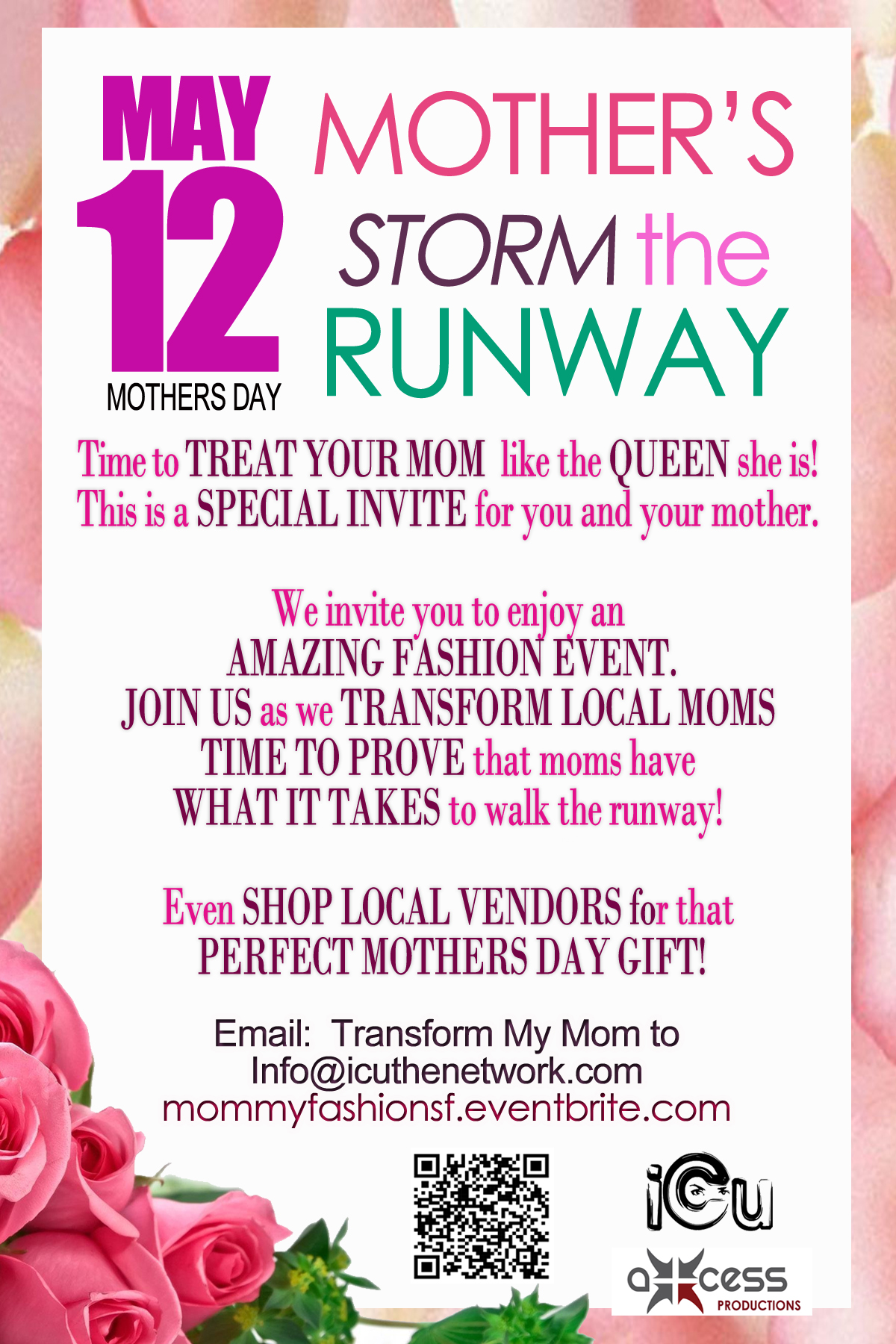 A Mothers Day Special Fashion Show and Shopping Affair ...