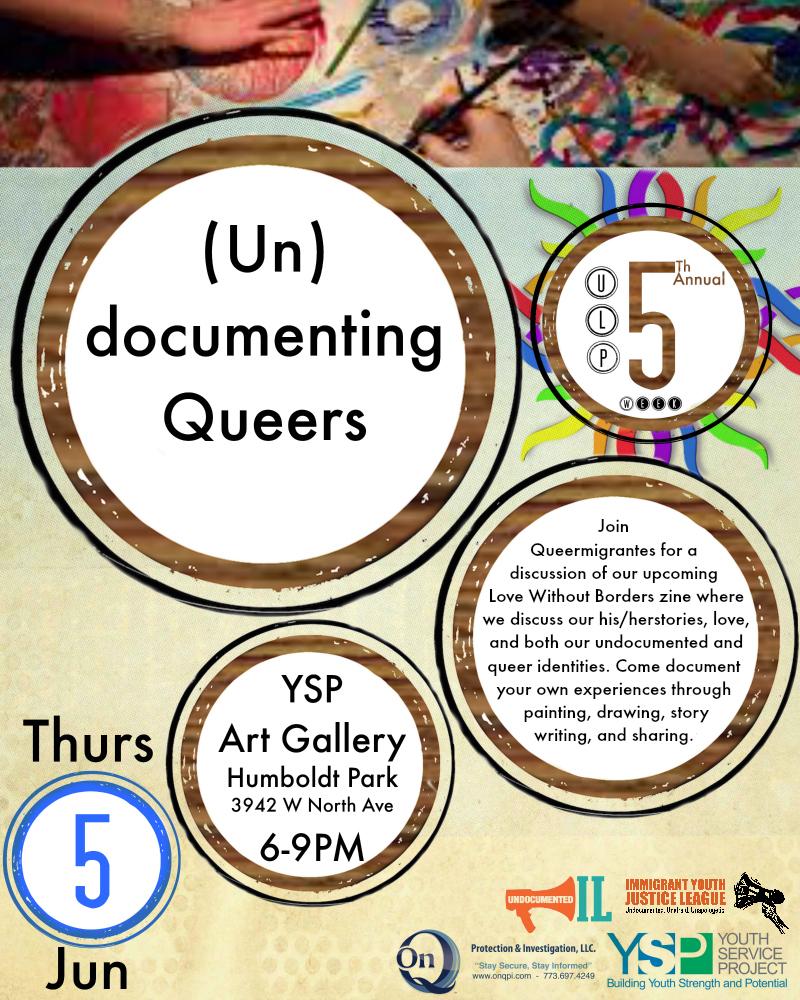 undocumenting queer flyer