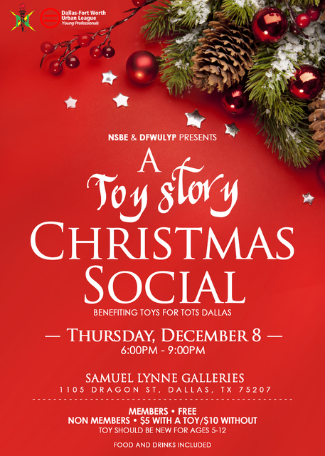A Toy Story Christmas Social