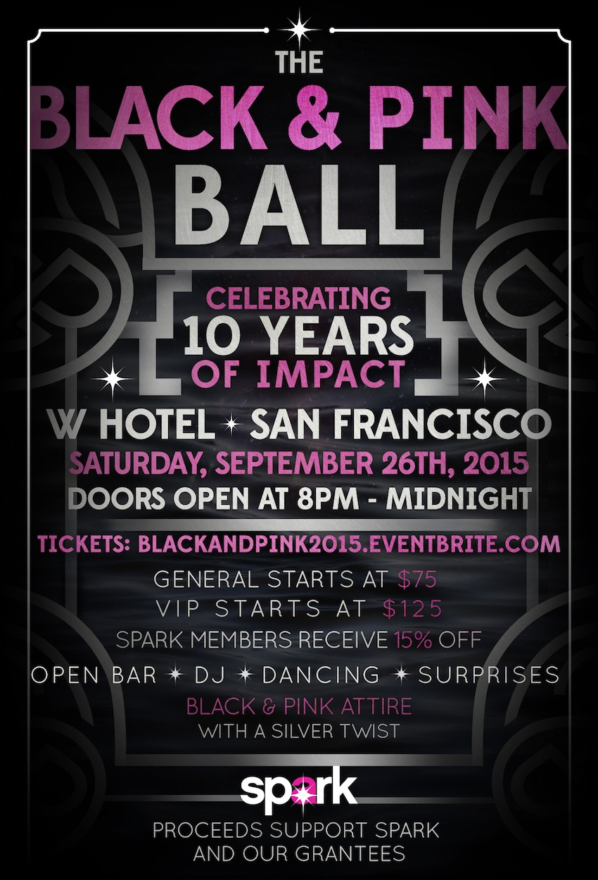 Spark's Black and Pink Ball 2015