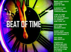 Beat of Time: A Benefit for Education Through Music