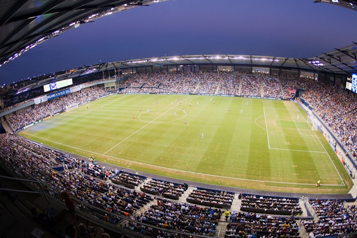 Sporting KC Park - Site of Hack The Midwest 2013