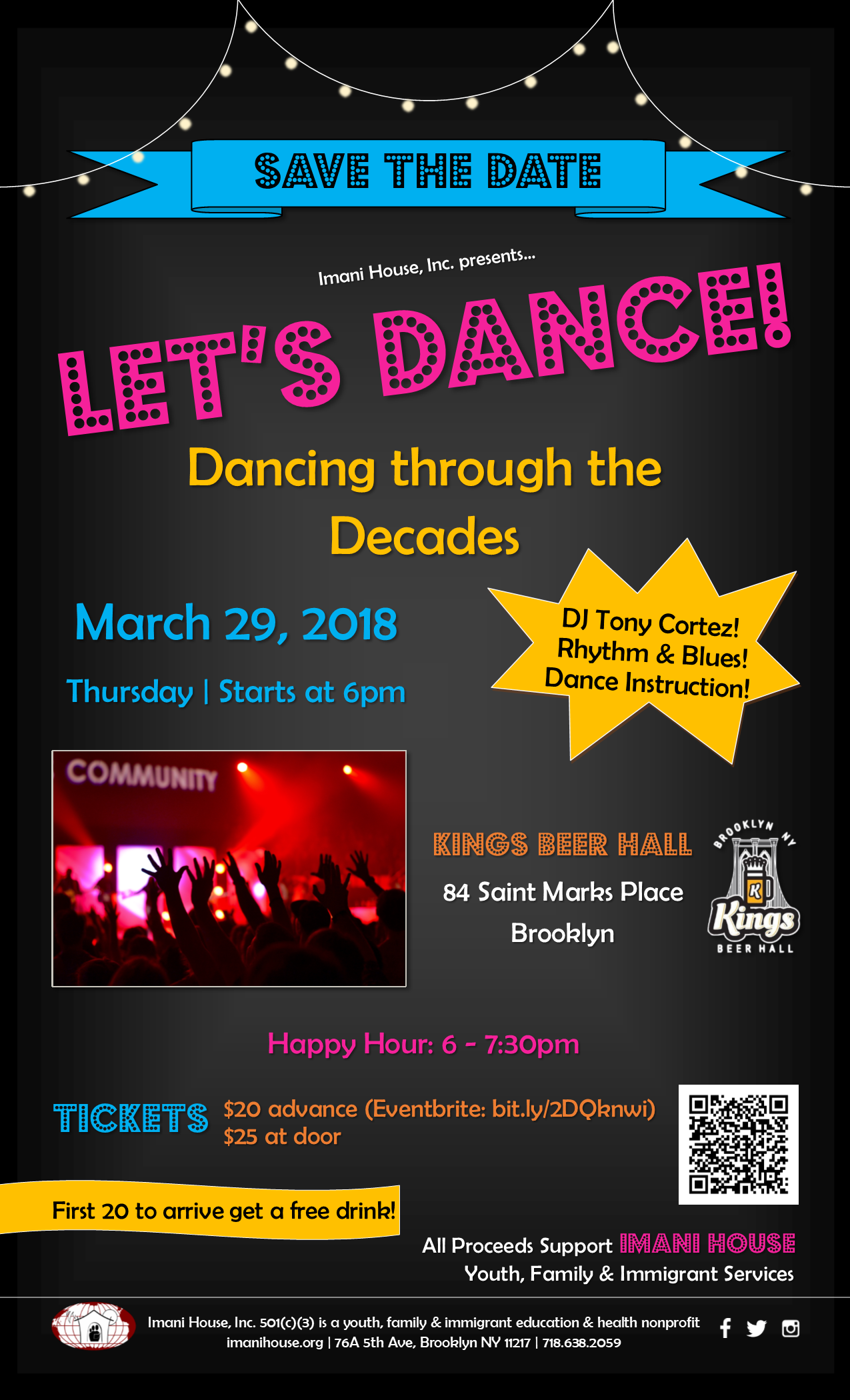 Let's Dance! Save the Date