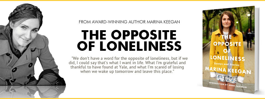 The opposite of loneliness commencement essay