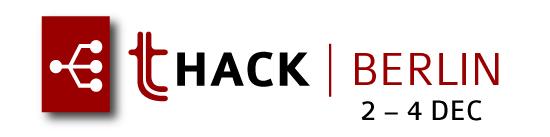 THack Berlin Dec 2016