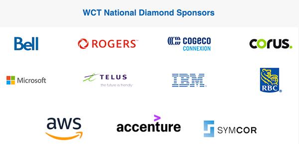 WCT diamond sponsors