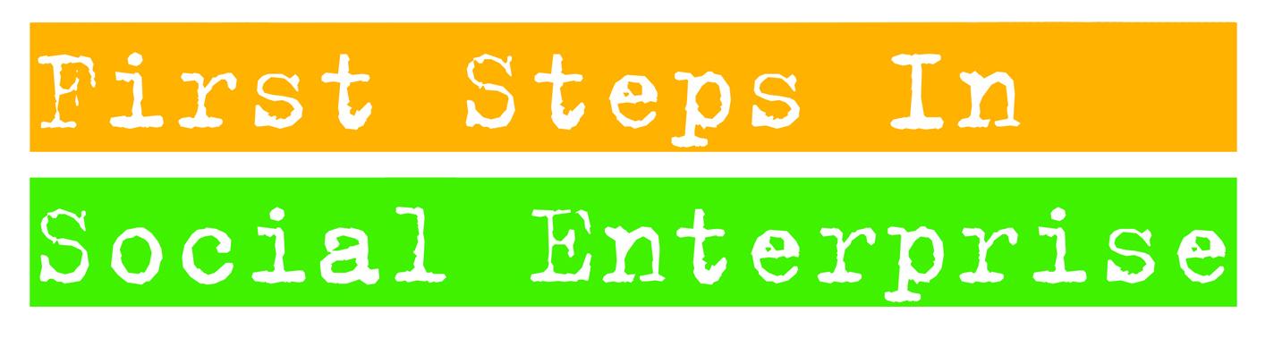 First Steps In Social Enterprise strapline
