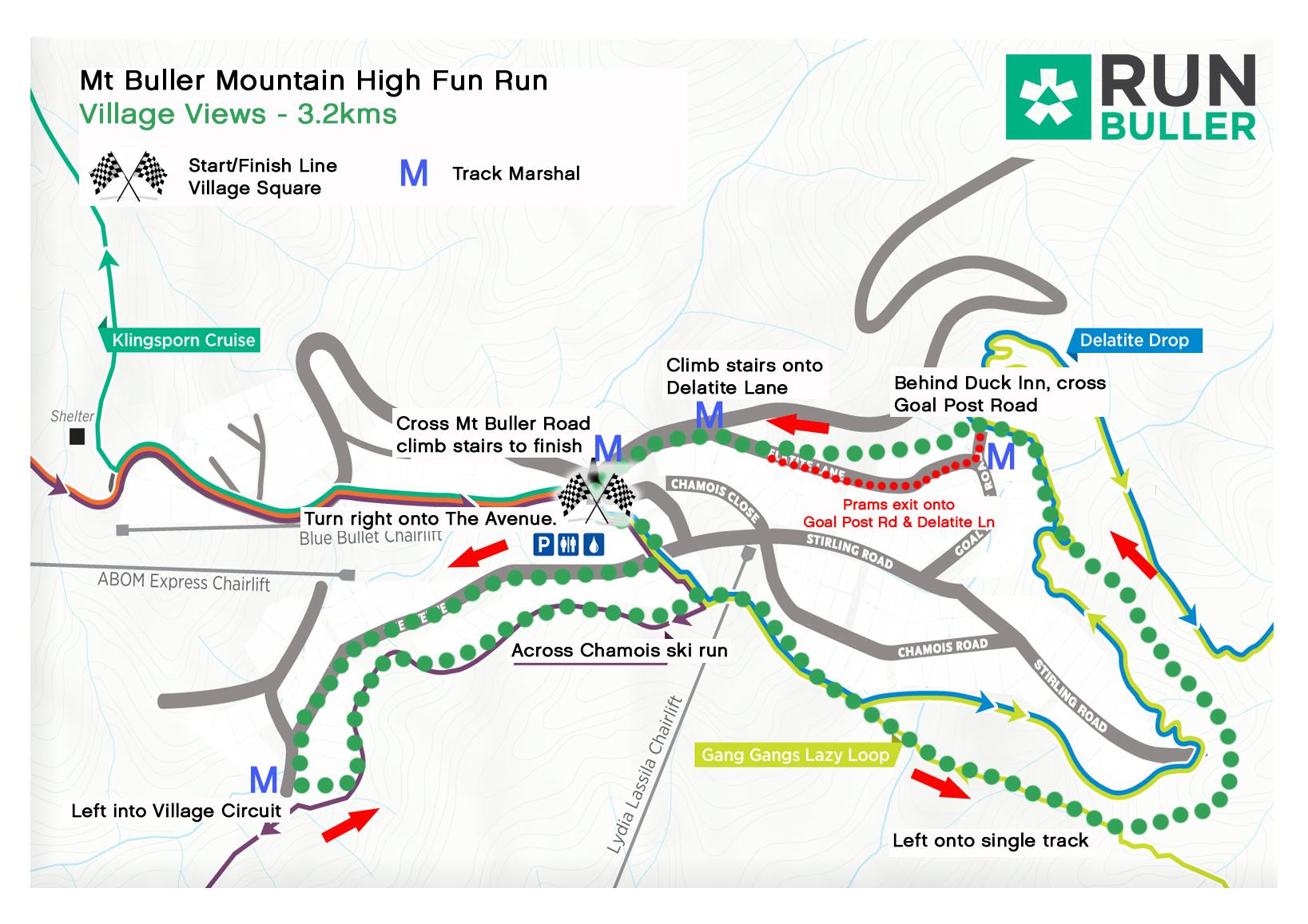2017 Village Views course map