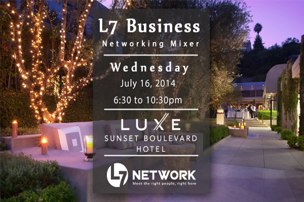 L7 Business Professional Mixer July 2014