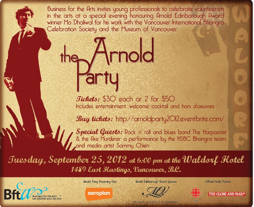 Arnold Party Invitation