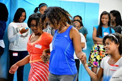 Girls at 2015 Workshop