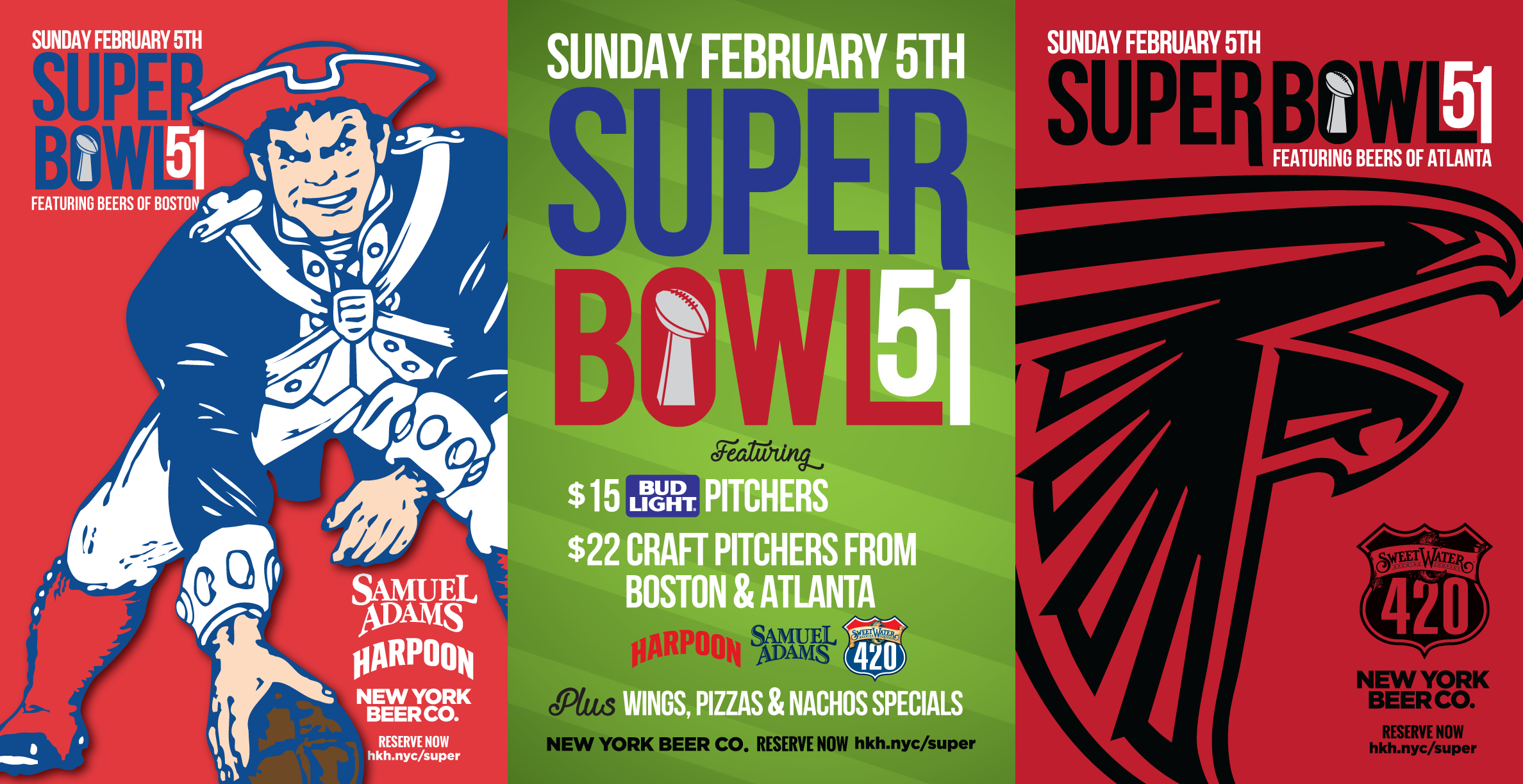 Where to watch Super Bowl NYC