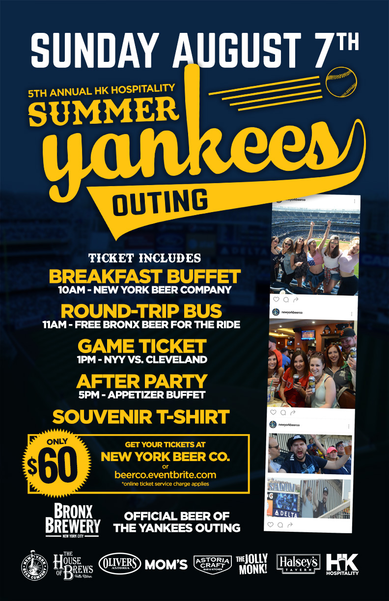 yankees summer party