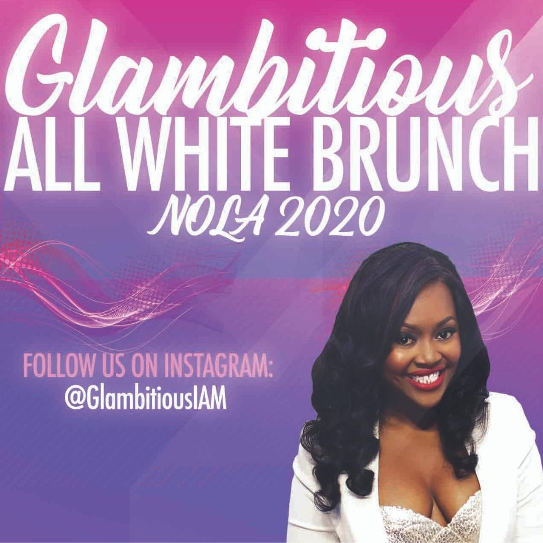 Gormet Easter Brunch Ideas 2020 SUNDAY Glambitious All White Brunch (Essence Festival 2020
