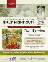 Goodtaste with Tanji Girls Night Out at The Wynden