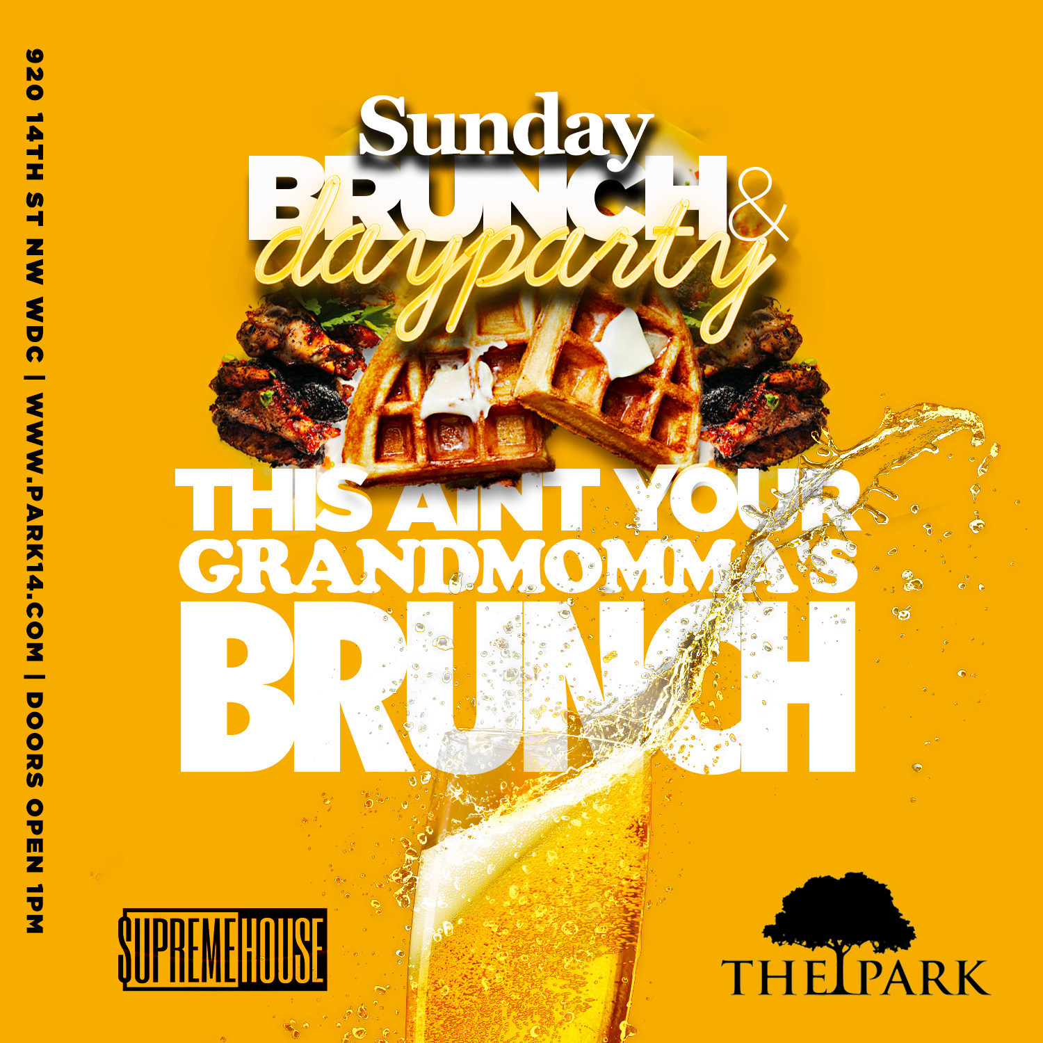 The Park Sunday Brunch + Day Party! Tickets, Sun, Sep 15