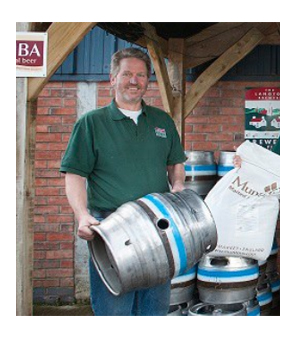 Alistair Chapman of Langton's Brewery