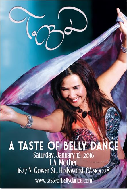 A Taste of Belly Dance 2016