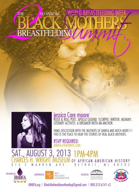2nd Annual Black Mothers Breastfeeding Seminar Flyer