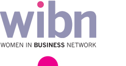 Womens Business Networking logo with modern text