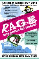 R.A.G.E. -rare artists get exposed-  (Roxanne / Dj Chris...