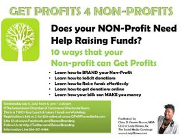 Getting Profits 4 Non-Profits
